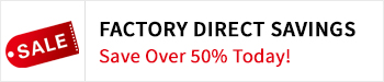 factory direct savings logo