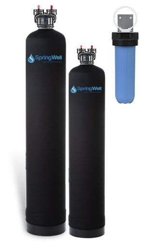 Water Filter and Salt-Free Water Softener
