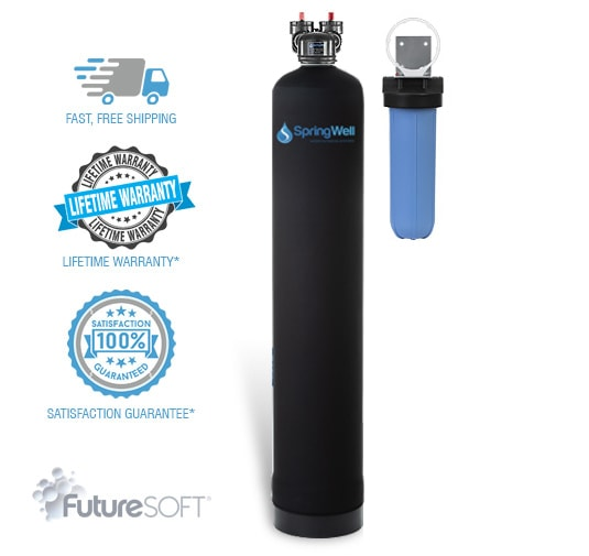 Salt Free Water Softener System For Whole House - SpringWell Water