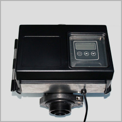 electronic head for well filter