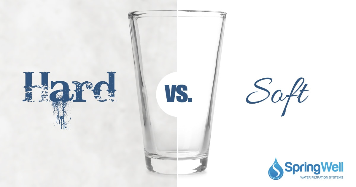 The Differences Between Hard And Soft Water Springwell