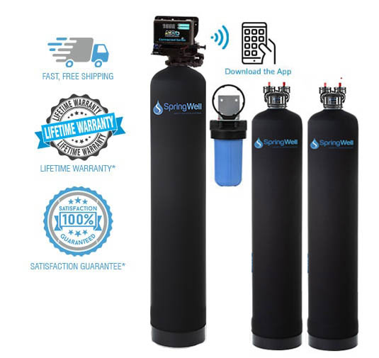 ultra well water filter softener combo system