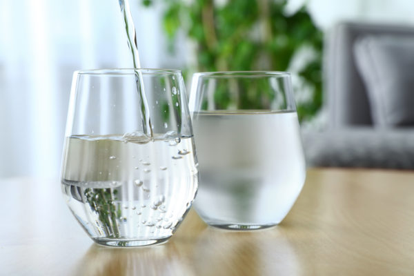 filtered water vs purified water