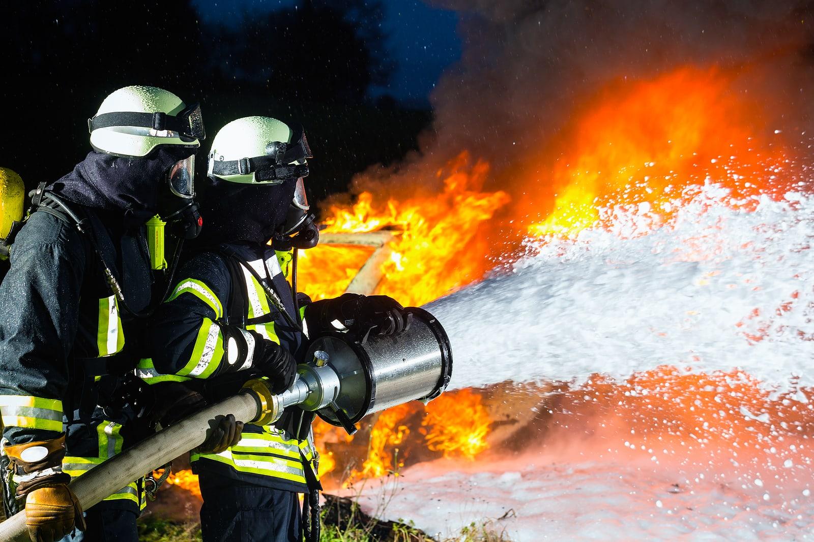 firefighter foam